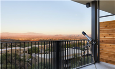 Rising high above the remarkable desert, each modern guest room has its own private balcony for taking it all in.