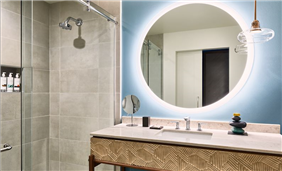 Modern and sleek design for your bath essentials