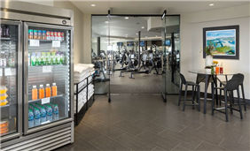 The Club at ADERO offers a world class fitness studio.