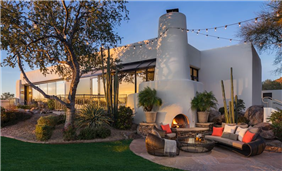 Relax and unwind at the Four Peaks Lawn