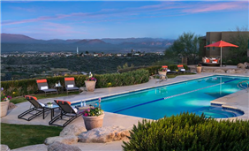 ADERO Scottsdale includes two outdoor pools including an outdoor lap pool