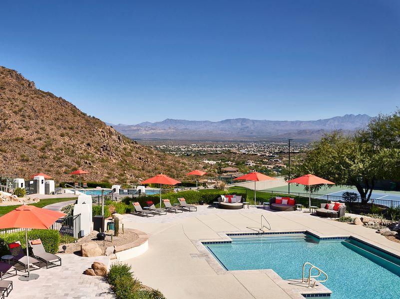Outdoor Pools at Arizona Hotel