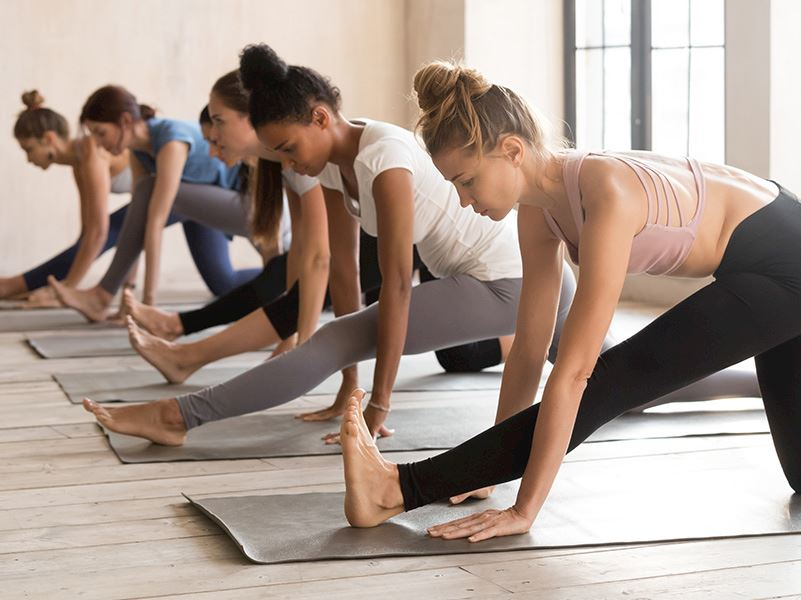 Yoga at Hotel Arizona
