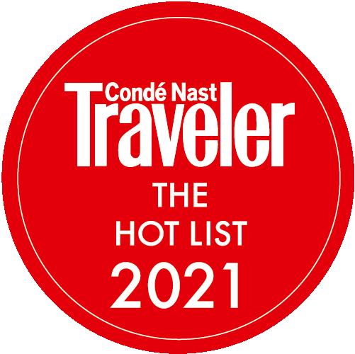 Conde Nast Traveler The Hot List 2021