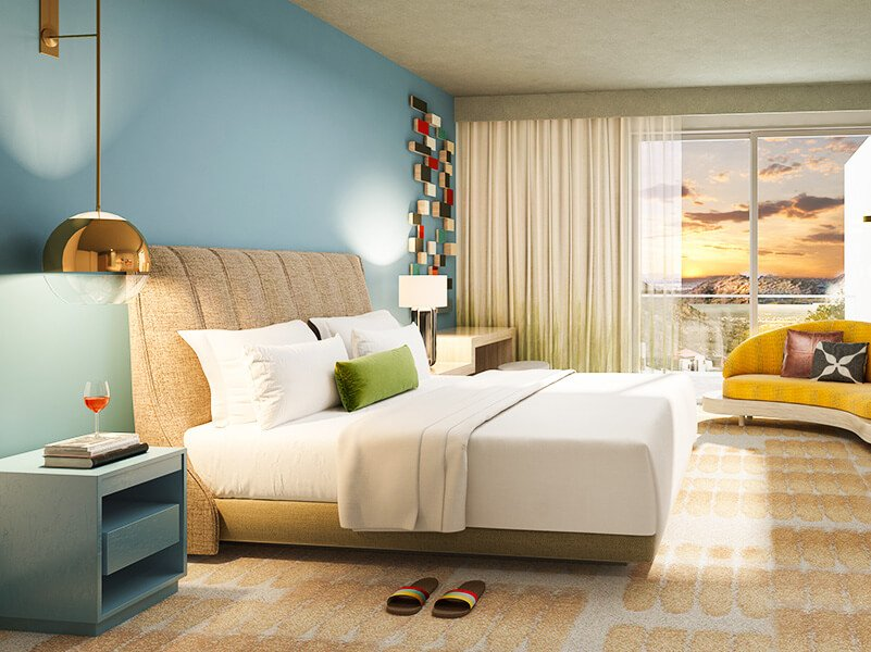 Ocotillo Guest Rooms in Adero Scottsdale Hotel