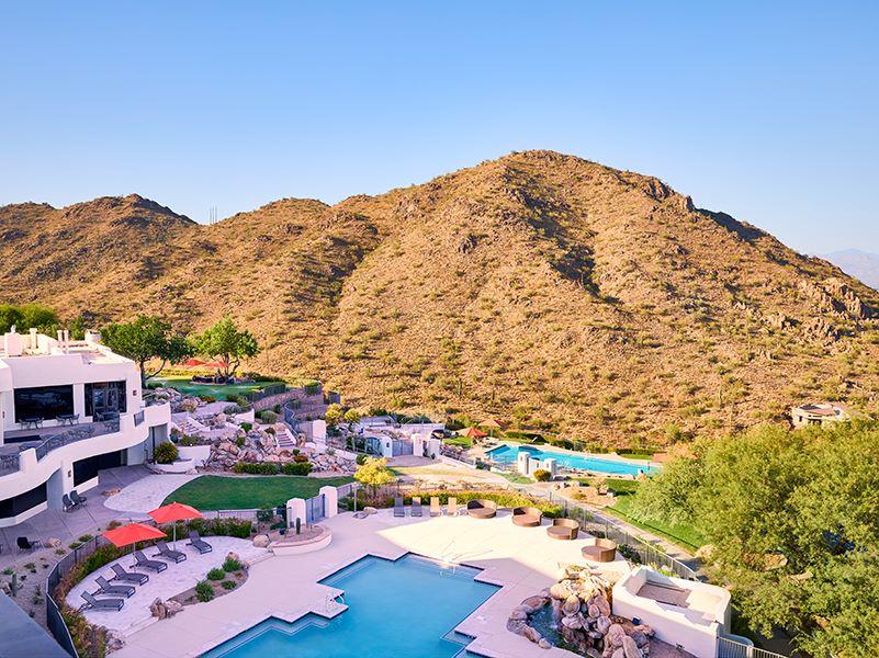 Outdoor View of Resort Pool